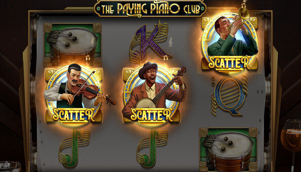 Vistabet Casino The Paying Piano Club slot